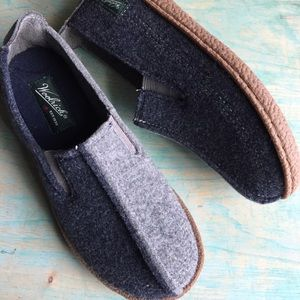 Woolrich gray and navy loafers plumtree shoes 6
